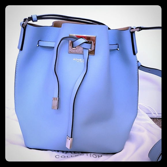 9ea9903cb7ec42 Michael Kors Bags | Light Blue Miranda Collection Bag | Poshmark